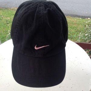 Nike hat.
